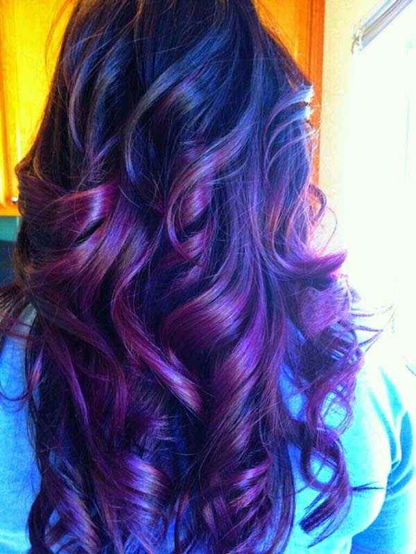 93 Eye Catching Purple Hair Color Options To Rock This Year Sass,Styles Of Kitchen Cabinet Doors