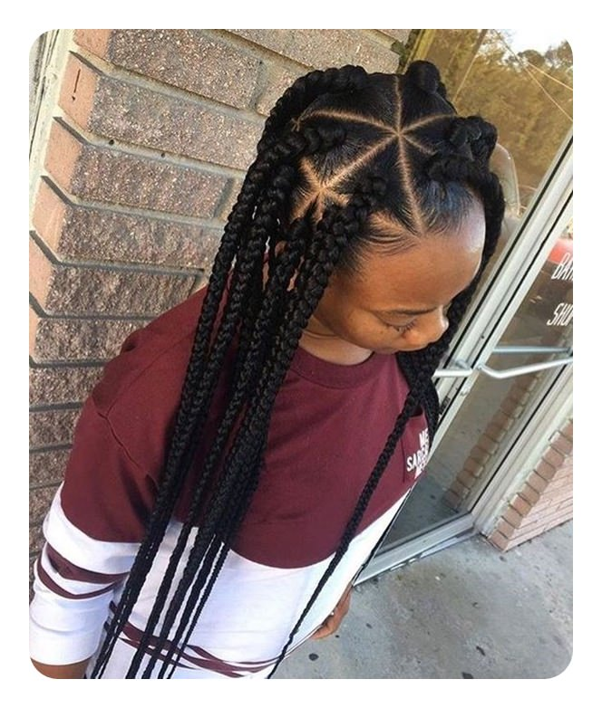 68 Triangle Braids for Women That Really Stand Out - Sass