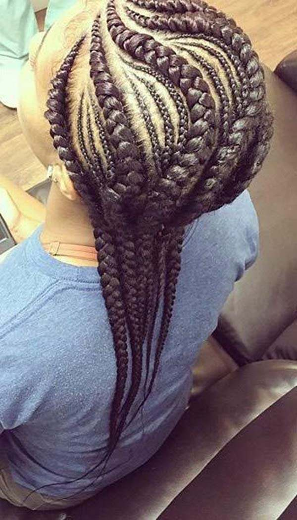 101 Hot Cornrow Hairstyles To Try This Year Sass