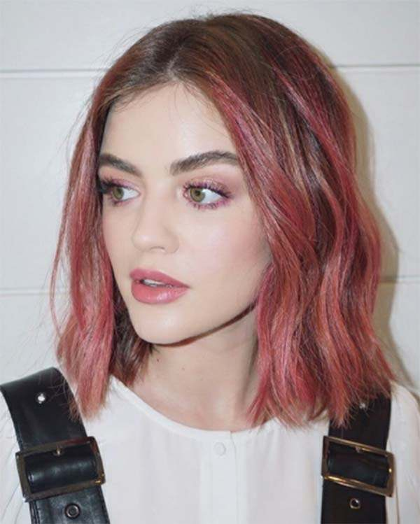 Spotlight 100 Rose Gold Hair Ideas To Try Pitchzine
