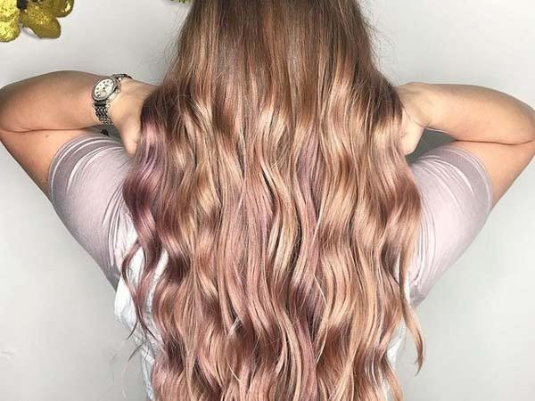 SPOTLIGHT 100 Rose Gold Hair Ideas to Try , Pitchzine