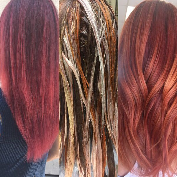 69 Badass Red Brown Hair Color Ideas For The Fall Pitchzine