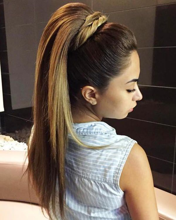 124 Eye Catching And Alluring Straight Hairstyles To Rock Sass