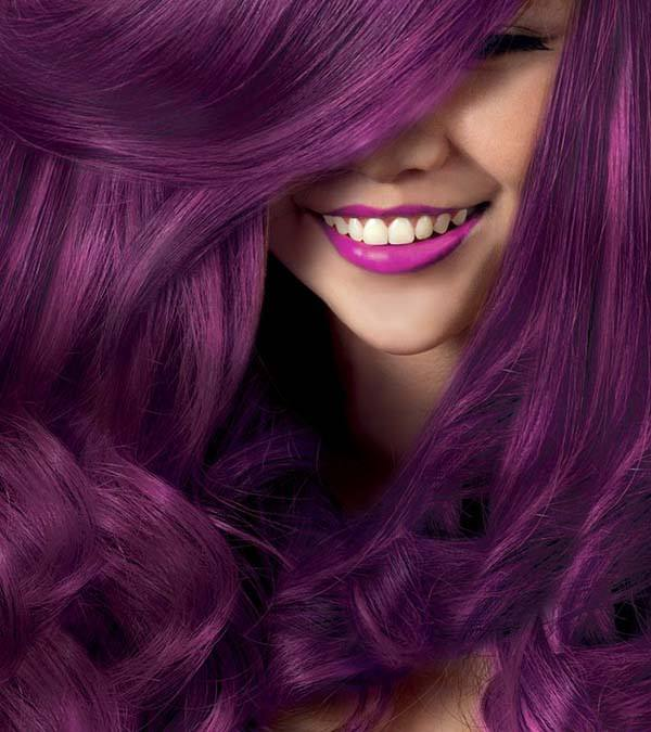 97 Breathtaking Purple Hair Color Styles You Will Love - Sass