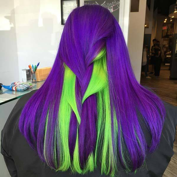 97 Breathtaking Purple Hair Color Styles You Will Love Sass,Black And White Wallpaper Aesthetic Anime